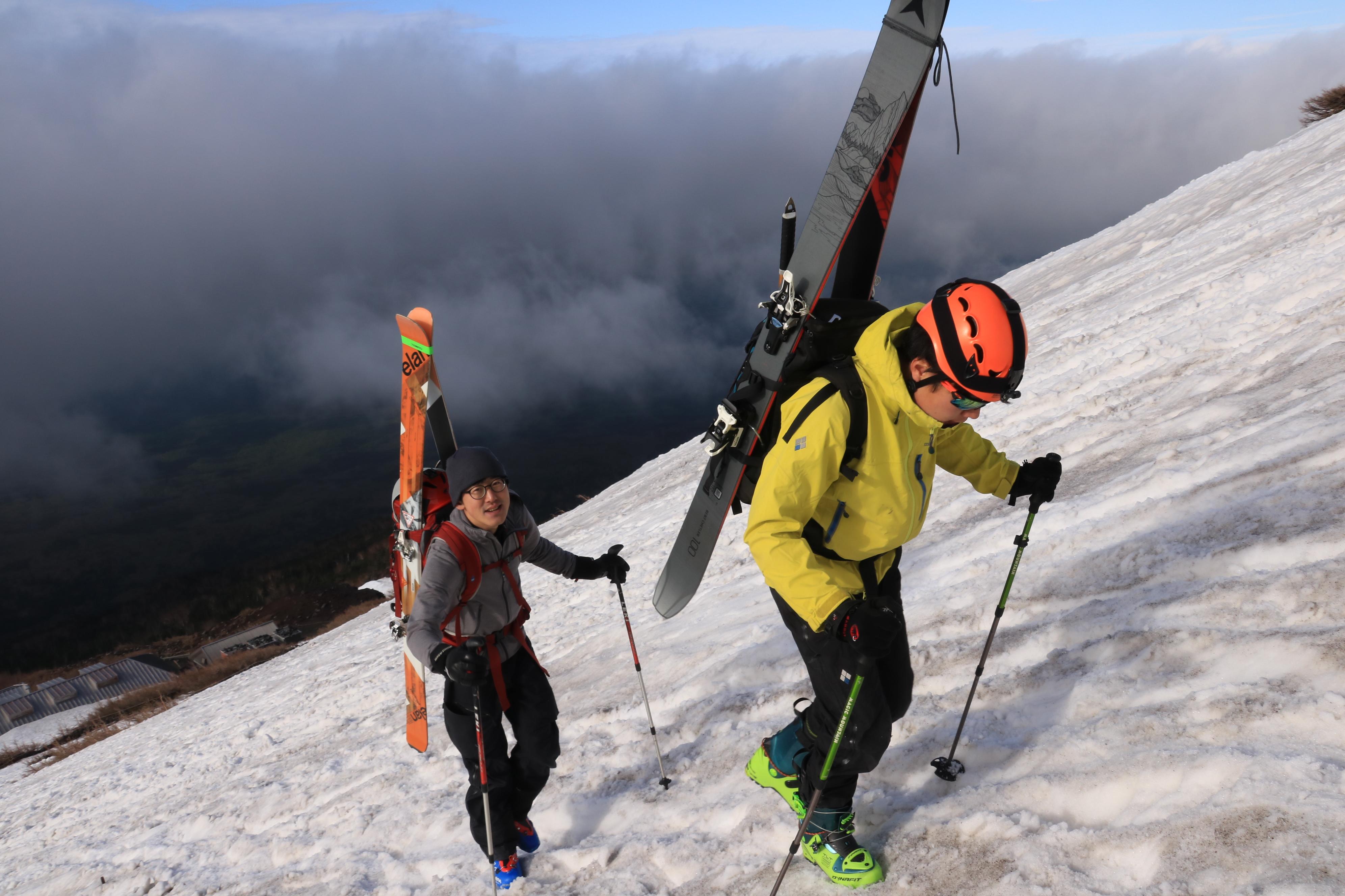 富士山BCスキー